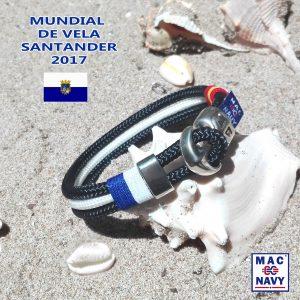 Pulsera Oficial Mundial de Vela 2017