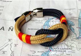 Pulseras marineras bandera España