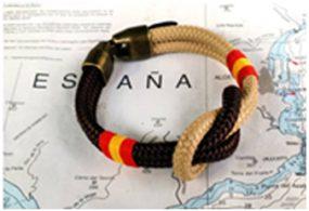 Pulseras náuticas con la bandera de España