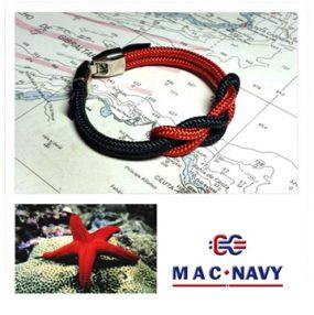Pulseras náuticas de driza marinera