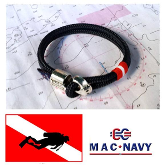 b6637ac58976 Pulseras náuticas con ancla. Pulseras estilo marinero con cierre ancla