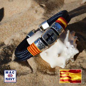 Pulseras náuticas bandera Española